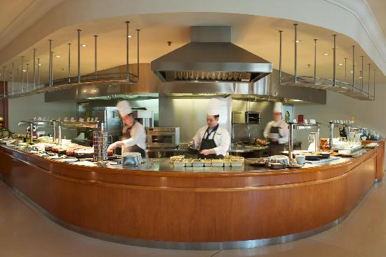 Intercontinental Budapest Live Cooking Corso Restaurant