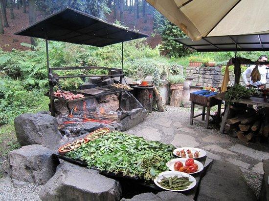 Manta, Italie : l'angolo delle grigliate