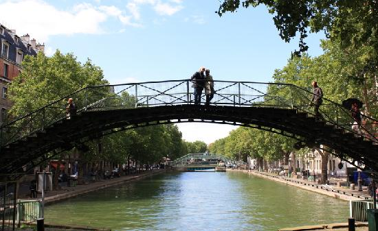 Canal Saint-Martin: Bridges over the canal