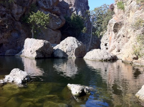 Calabasas, Kalifornia: Rock Pool At Malibu Creek