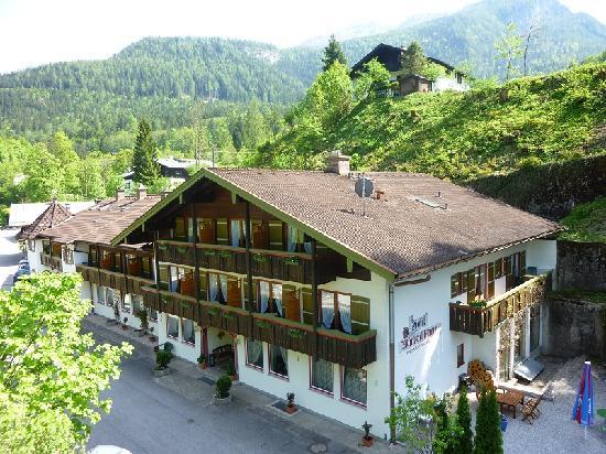 Hotel Garni Wimbachklamm: Aussenansicht