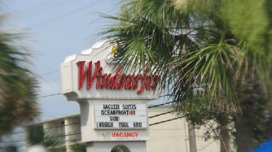 Windsurfer Hotel Front Of The