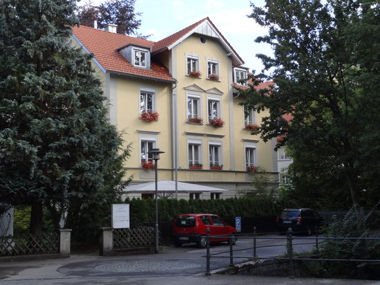 Memmingen, Tyskland: Pension Erb