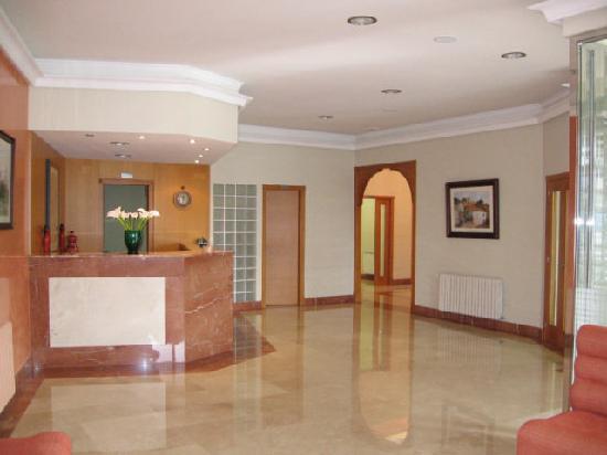 Hotel Combarro: Recepción