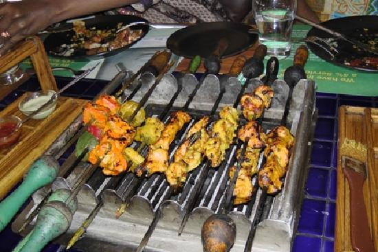 Barbeque Nation : Kebabs for starters - unlimited supply :-)
