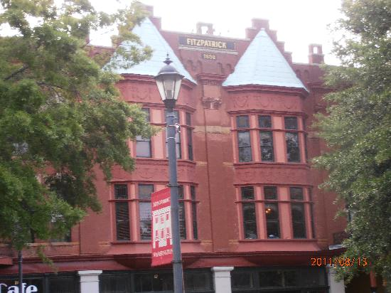 The Fitzpatrick Hotel: Built in 1898