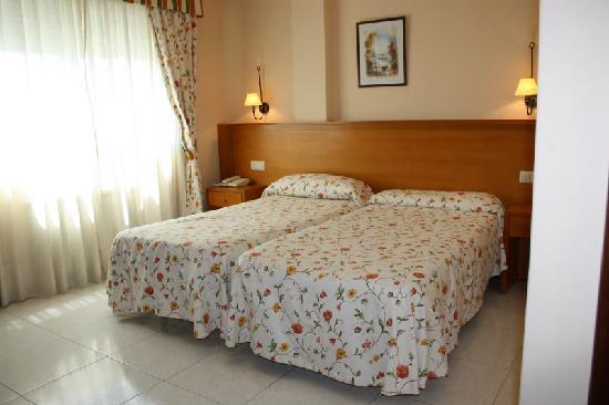 Hotel Combarro: Habitación doble