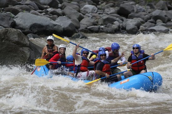 San Pedro, Κόστα Ρίκα: Rio Pacuare