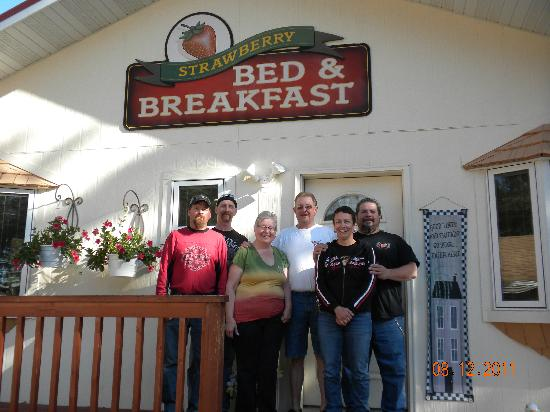 Strawberry Bed and Breakfast: Saying good-bye