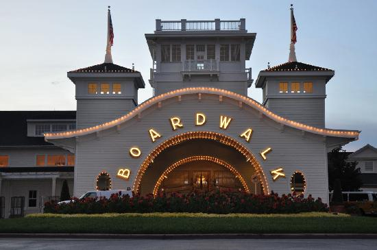 Disney's BoardWalk Villas: entrance