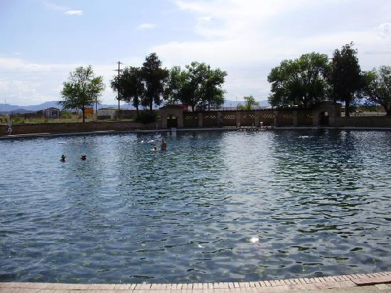Balmorhea State Park: The 30 foot deep pool is a haven for snorkeling and diving