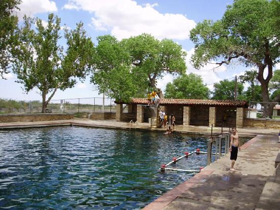 Balmorhea State Park: Deep arm of the pool