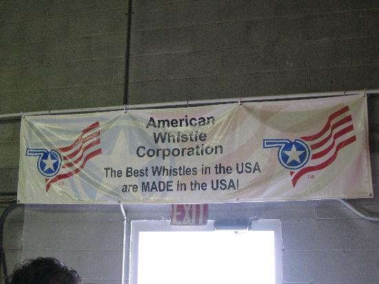 American Whistle Corp.: Leaving the tour