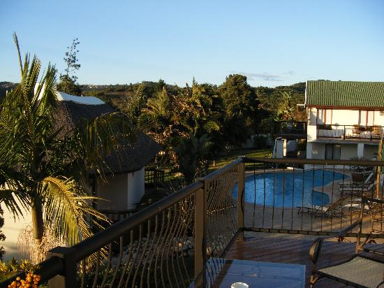 Knysna Country House: From the balcony...