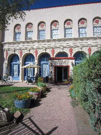 Historic El Fidel Hotel entrance
