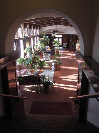 Lobby of El Fidel Hotel