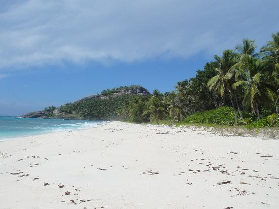 North Island Seychelles: Beach