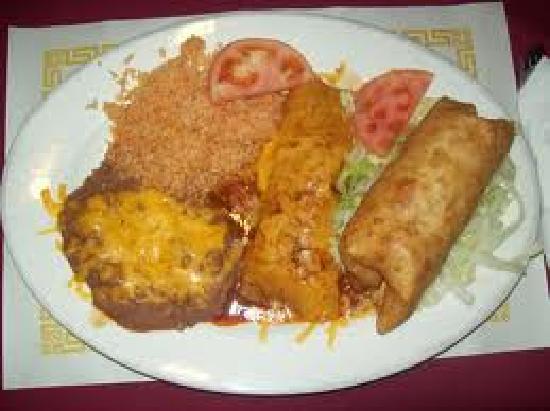 El Charro T Mexican Restaurant: A Mexican Dish