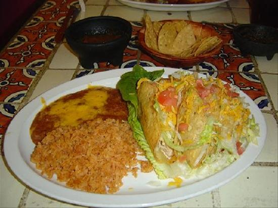 El Charro T Mexican Restaurant: The last Mexican Dish
