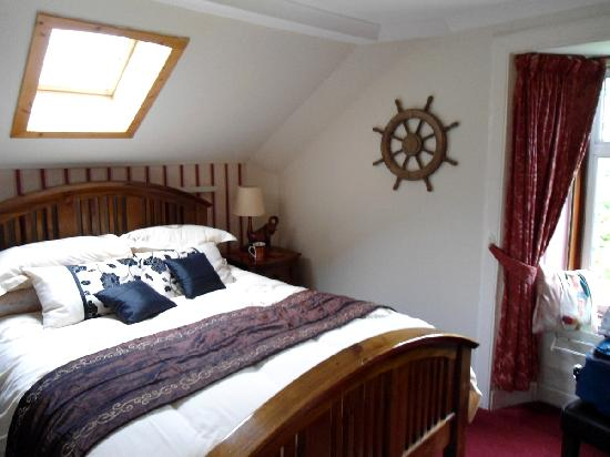 The Moorings... heavenly bed with a view to the stars at night!