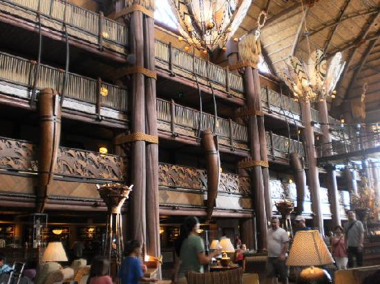 Disney S Animal Kingdom Lodge Hotel Lobby