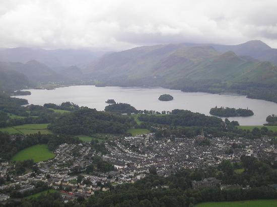 Glendale Guest House: View of Keswick from Latrigg