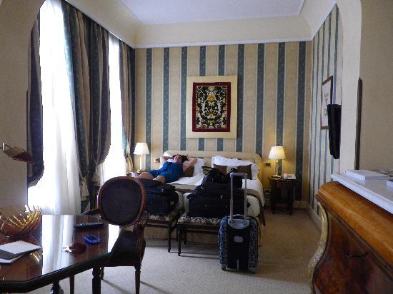 Hotel Londra Palace: Room