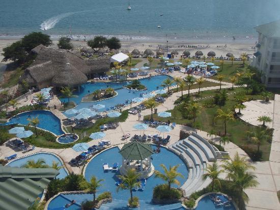 Sheraton Bijao Beach Resort : Zona de piscinas