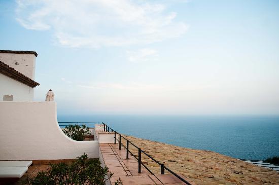 Hotel El Far de Sant Sebastia: The view from our private terrace