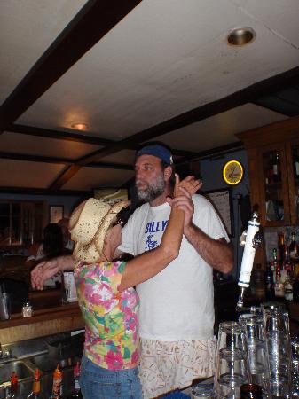 Doyle's Restaurant: Crazy Bill and Cowboy Hat