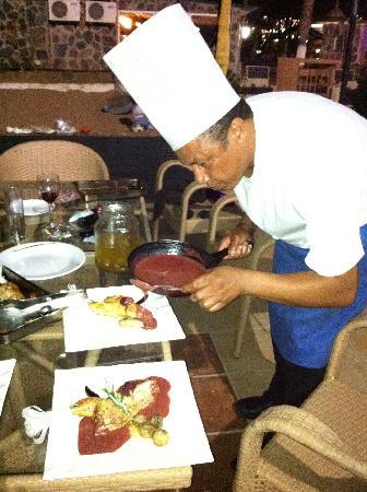 Maracaibo Aparthotel : Excelent cook