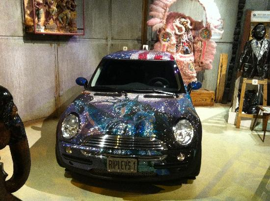 Mini Cooper Covered With Swarovski Crystals Picture Of Ripleys