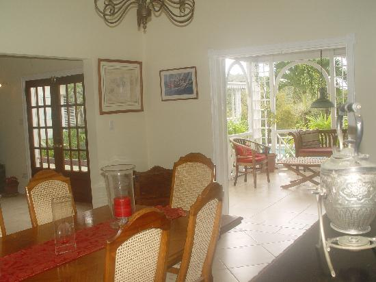 Figtree House & Cottage: Dining room at Figtree House