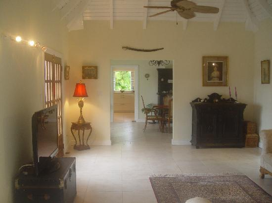 Figtree House & Cottage: Lounge at Figtree