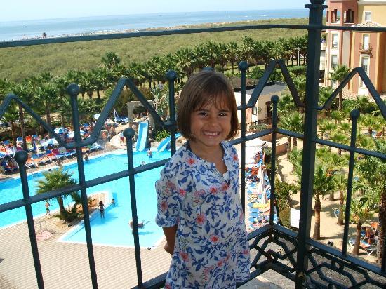 Playacanela Hotel : vista desde la habitacion