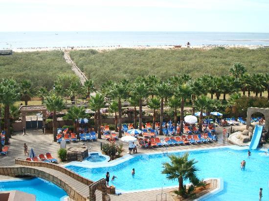 Playacanela Hotel : vista de la habitacion