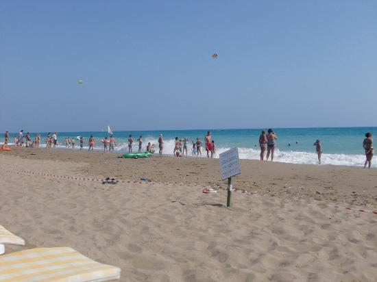 Pegasos World Hotel: wonderfully clean unspoilt beach
