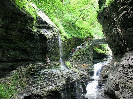 Watkins Glen State Park: Falls