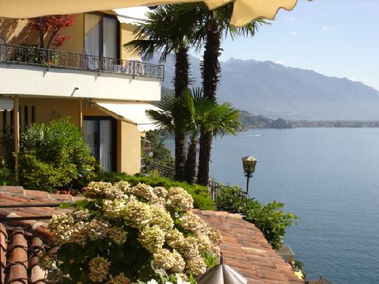Boutique-Hotel La Rocca : Ausblick vom Zimmer Nr. 7