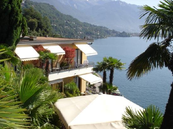 Boutique-Hotel La Rocca : Blick von der Garteterasse