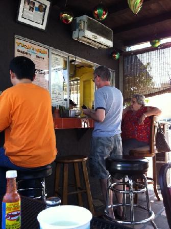 Yuca's: great burritos, great people.