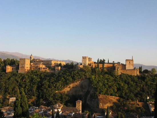El Huerto de Juan Ranas: La Alhambra al atardecer