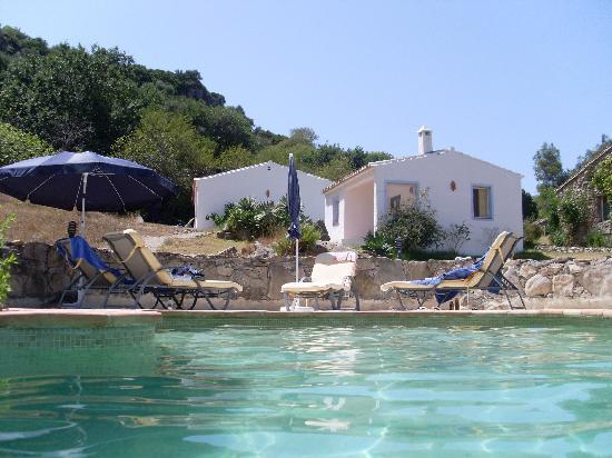 Cerro de los Higos: Pool to House :)