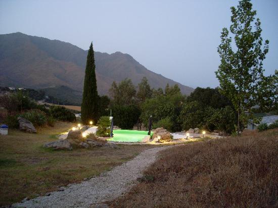 Cerro de los Higos: Pool by night