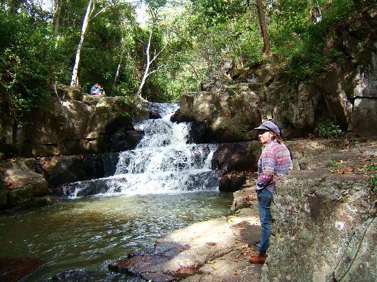 Esteli, Nicaragua: baño refrescante en la posa del cebollal