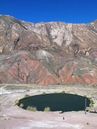 Potosi, Bolivia: Ojo del inca o laguna Trapaya
