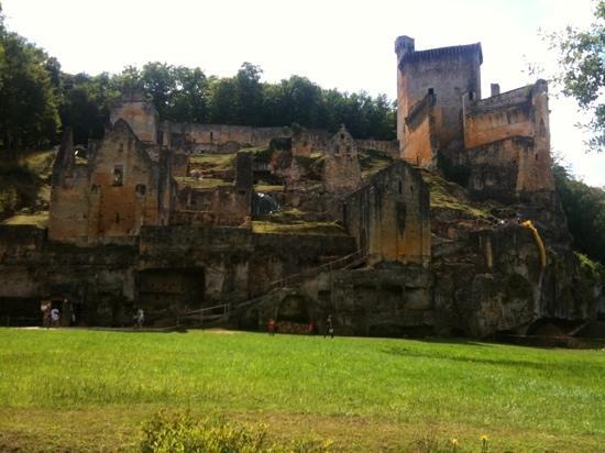 Château de Commarque : chateau de Commarque