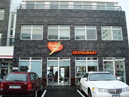 Kryddlegin Hjortu : Front of restaurant