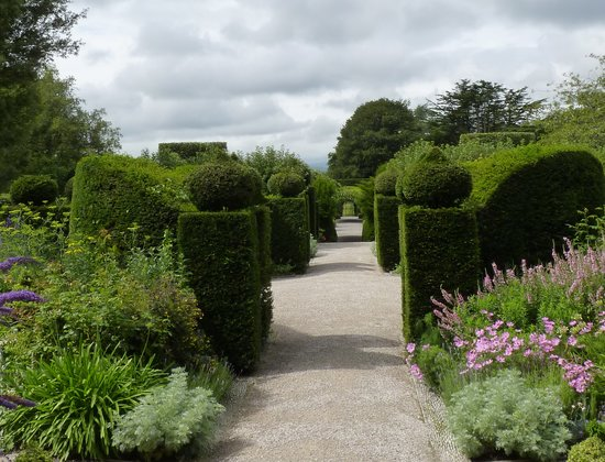 Grange-over-Sands, UK : Gardens at Holker Hall