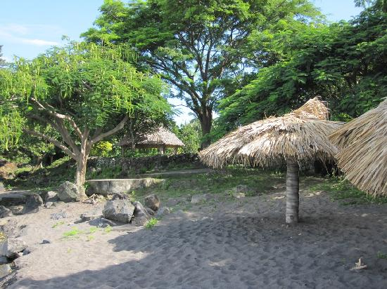 Finca San Juan de la Isla: Acceso a playa